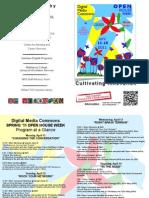 Spring 2011 Digital Media Commons Open House Program