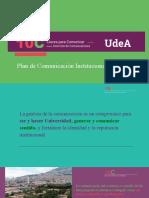 10C Plan de Comunicación Institucional