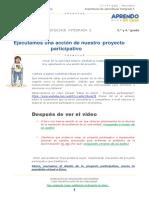 Ejecutamosaccionesdelproyecto-3ero DPC A y B