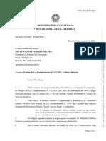 OF 194-21 - Presidente da CD - Projeto de Lei Complementar nº 112-2021. Código Eleitoral.