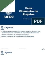 CB 202101 Valor 03 Valor Financeiro de Projetos