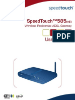 SpeedTouch 585 UserGuide
