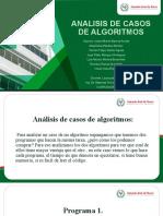 Analisis de Casos de Algoritmo