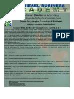 Summer Biodiesel Training 2011