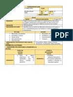 PLANEACIÓN DE CLASE 28 DE AGOSTO 2021
