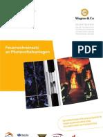 Feuerwehreinsatz an Photovoltaikanlagen