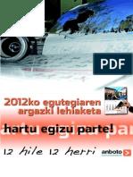 Anboto.2011.Egutegiaren Argazki Lehiaketa