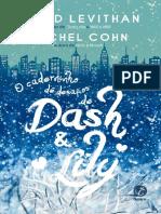 O Caderninho de Desafios de Dash & Lily - David Levithan