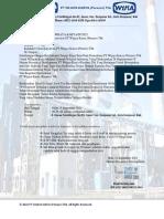 Surat Panggilan & Daftar Peserta Interview Kandidat PT Wijaya Karya  (persero) Tbk 2021