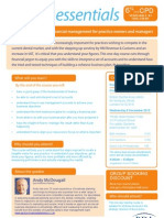 Business Planning and Financial Management - FINAL BROCHURE (2010-11)