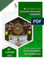Liturgia 125 Aniversario 7 de Septiembre 2021