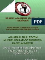 arastirma_teknikleri