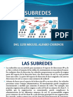 Clase Sub Redes
