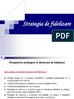 Strategia de fidelizare