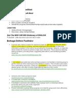 Berbagai Definisi Fasilitasi