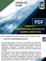 Unidad 3 Impemeabilizacion y Sobrecimientos