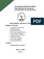 Análisis de indicadores ambientales- Gestión de riesgos y desastres