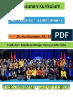Penyusunan Kurikulum. Dr. Hardiwinoto, SE., M.si.
