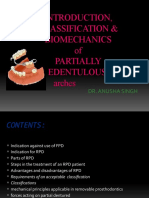 classification of partially edentulous ridges