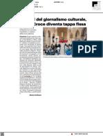 Festival del Giornalismo Culturale, Santa Croce diventa tappa fissa - Il Resto del Carlino del 16 settembre 2021