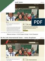 Homework 9 - Website mockup - Be the Link International