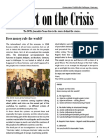 Report on the Crisis