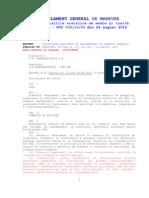 regulament NTE 009-10-00