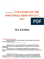 ppt of industrial dispute act