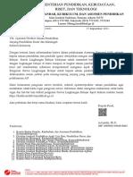 Surat Pemberitahuan Pengisian Survei An