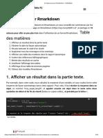 10 Astuces Pour Rmarkdown - DellaData
