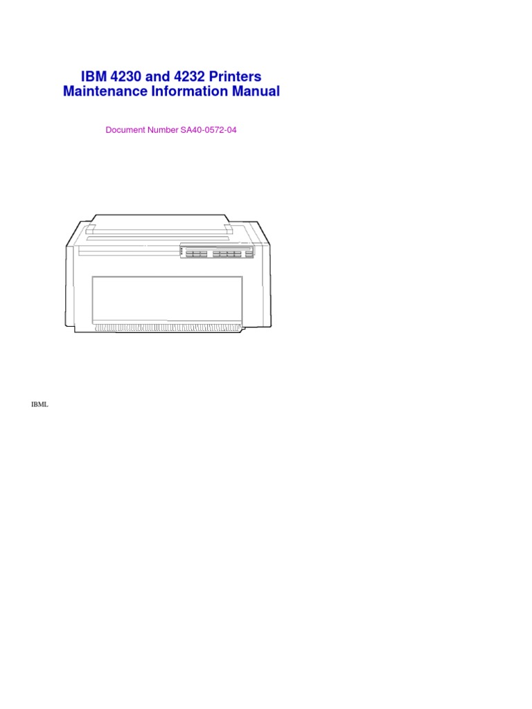 ibm printer service manual how to and user guide instructions u2022 rh taxibermuda co IBM Office System 6 Printer with Dual Paper Trays ibm 6400 printer service manual