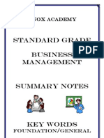 Bus Mgt FG Revision Booklet