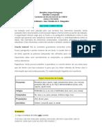 Conteúdos - Lista VUNESP