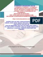 TEMOS PRONTO (32 991948972) a Importância Da Radiologia Na Identificação e Tratamento Da COVID-19