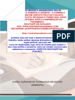 TEMOS PRONTO (32 991948972) Portfólio Saneamento Básico e Qualidade de Vida