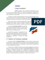 A Psicologia Hospitalar