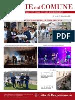 Notizie Dal Comune di Borgomanero del 17-09-2021