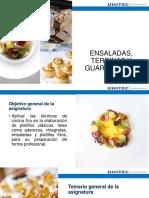 ENSALADAS, TERRINAS Y GUARNICIONES_Sesión 1