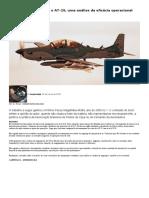 Armamento ar_ar para o AT_29, uma análise da eficácia operacional