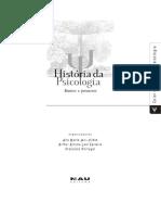 Historia Da Psicologia - Rumos e Percurs