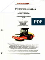 Manual de Operação e Manutenção Rolo DYNAPAC CA250