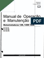 Manual de Operaçao e Manutançao CAT MOTONIVELADORAS 140K