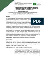 Relatório - Artigo Composição Gravimétrica