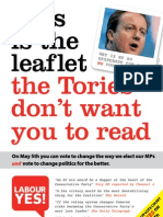 The leaflet the Tories don't want you to read