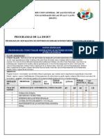 Modelo PROGRAMAS Motores Fuera Borda