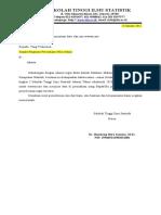 Surat pengantar ke perusahaan (tugas database)