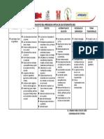 CUADRO ANALITICO DEL APRENDIZAJE VIRTUAL DE LOS ESTUDIANTES 2021