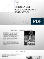 Historia Del Baloncesto Deporte Formativo