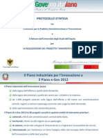ITALIAN GOVERNMENT AGREEMENT WITH THE UNIVERSITY OF L'AQUILA