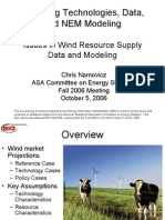 EIA Issues in Wind Resource Supply